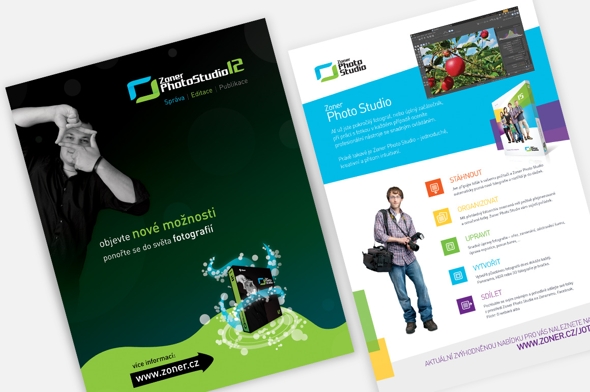 Zoner software - Advertising flyers